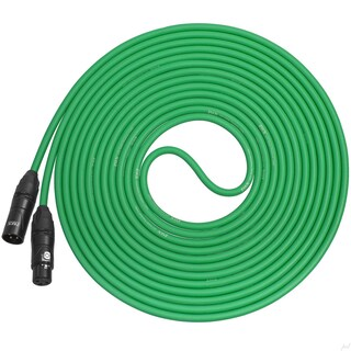 LyxPro Balanced XLR Cable 25 ft Premium Series Professional Microphone Cable, Powered Speakers and Other Pro Devices Cable