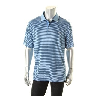 Greg Norman Mens Polyester Contrast Trim Polo