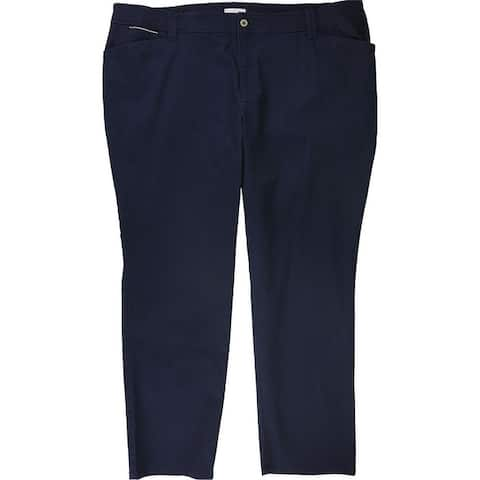 Charter Club Womens Solid Casual Chino Pants