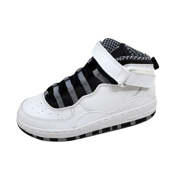 best service 70d5b 83547 Nike Pre-School AJF Air Jordan Fusion 1- White Black-Light Steel