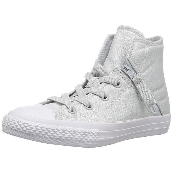 a7eba4268779 Shop Converse Kids  Chuck Taylor All Star Pull-Zip High Top Sneaker ...