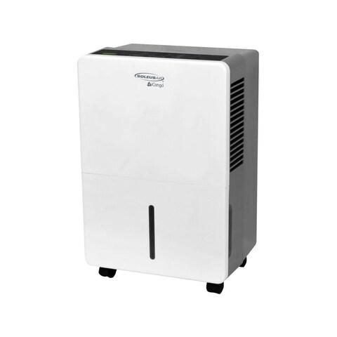 Soleus Air DS1-45E-101 13 Inch Wide 45 Pint 460 Watt Energy Star Certified Frees - White - N/A