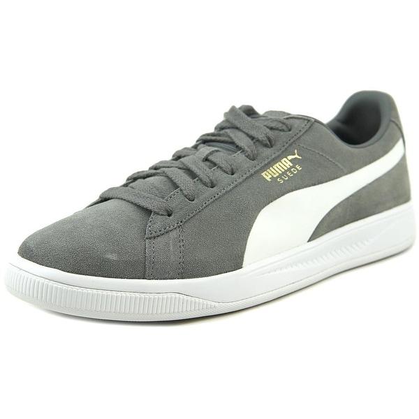Shop Puma Suede Ignite Men Round Toe Suede Gray Sneakers - Free ... 87d15b17e