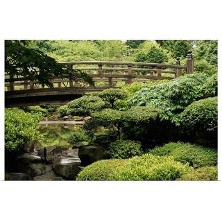 """""""Japanese Garden"""" Poster Print"""