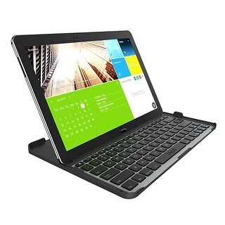 Zagg Cover Fit Bluetooth Keyboard for Samsung Galaxy Note Pro/Tab Pro 12.2 - Bla