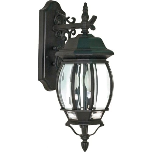Nuvo Lighting 60/893 Central Park Three Light Ambient Lighting Outdoor Wall Sconce