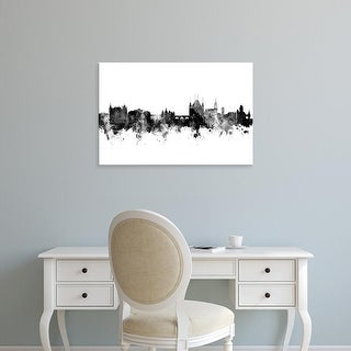 Easy Art Prints Michael Tompsett's 'Thun Switzerland Skyline' Premium Canvas Art