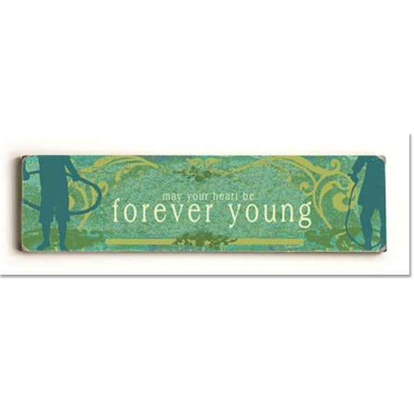 Shop ArteHouse 0003-2615-24 Forever Young Vintage Sign - Free Shipping On  Orders Over  45 - Overstock.com - 24911890 7d7e2efc405