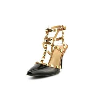 BCBGeneration DarronX-X Women Open Toe Patent Leather Sandals