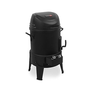 Char-Broil The Big Easy TRU-Infrared Smoker Roaster & Grill - Black
