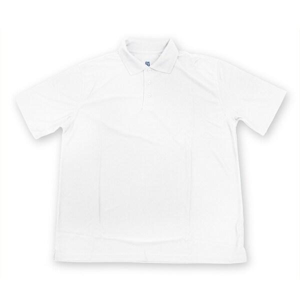 PGA TOUR Men's Polo Shirt - White Solid - 3X Large