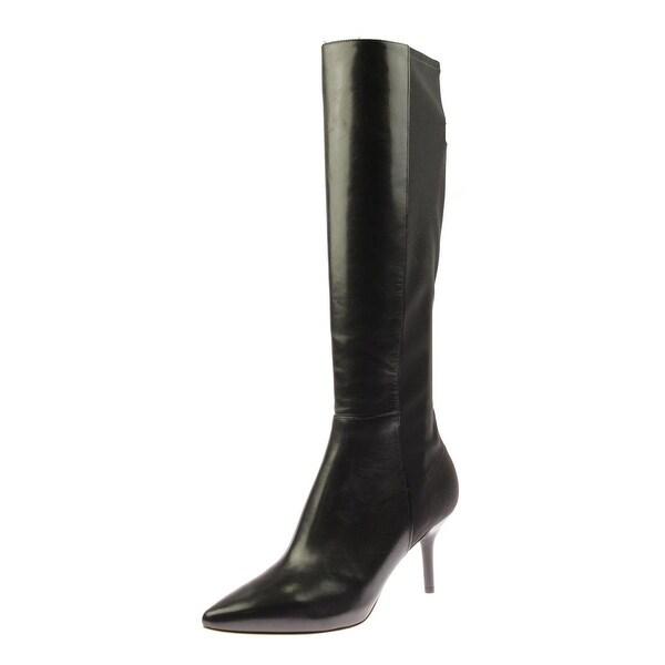 2e6e421553d Shop Via Spiga Womens Monica Leather Pointed Toe Knee-High Boots - 8 medium  (b