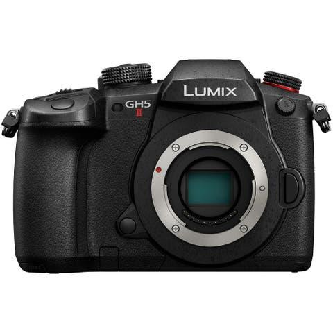Panasonic LUMIX GH5 II Mirrorless Camera w/ Live Streaming (Body Only)