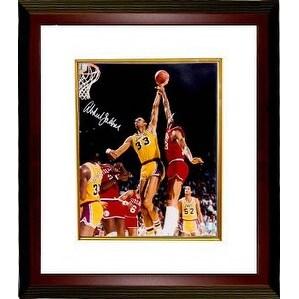 e4c4bae9279 Shop Kareem AbdulJabbar signed Los Angeles Lakers 16x20 Photo Custom Framed  Online Authentics Hologram - Free Shipping Today - Overstock - 19867984