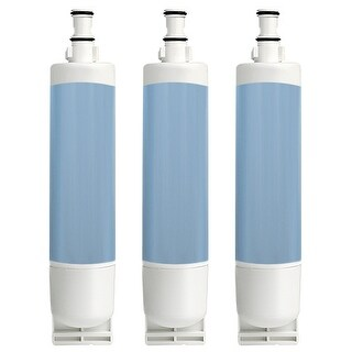 Whirlpool ED5FHGXKQ03 Replacement Refrigerator Water Filter Cartridge by Aqua Fresh (3 Pack)