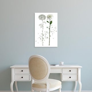 Easy Art Prints Melissa Wang's 'Botany Flower IV' Premium Canvas Art