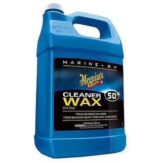Meguiars Boat/RV Cleaner Wax - Liquid 1 Gallon Cleaner Wax - Liquid