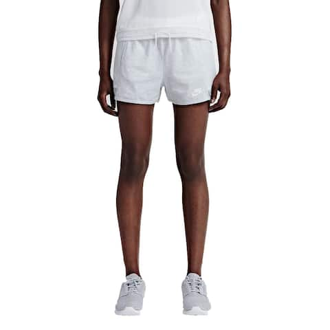 Nike Women's Cotton Heathered Skort, Grey (S)