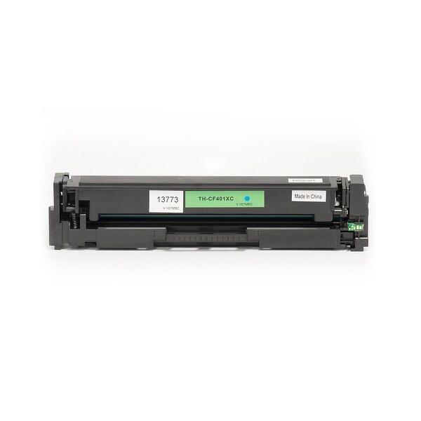 MPI Compatible HP CF401XC (HP 201X) Toner-Cyan (High Yield)