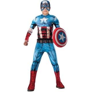 Captain America Costume Child