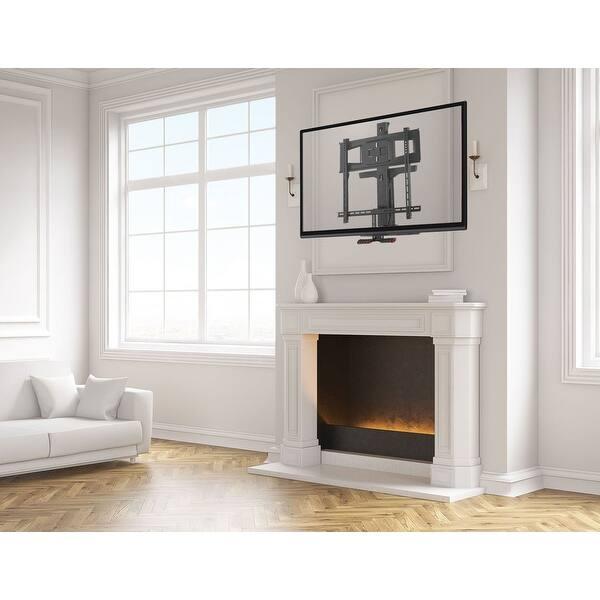 Shop Mount It Fireplace Tv Mount Full Motion Pull Down Mantel Tv