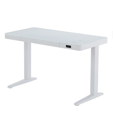 Vanity Art Electric Adjustable Standing Desk