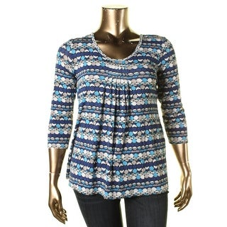 Miraclebody Womens Pullover Top Printed Slimming - xL