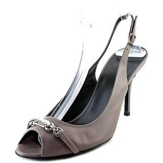 Gucci Talibu Open Toe Leather Sandals