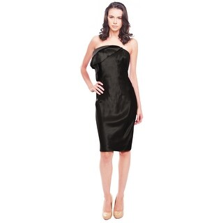 Rachel Roy Sleek Strapless Cocktail Dress