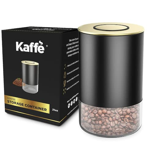 Coffee Canister Glass Storage Container by Kaffe