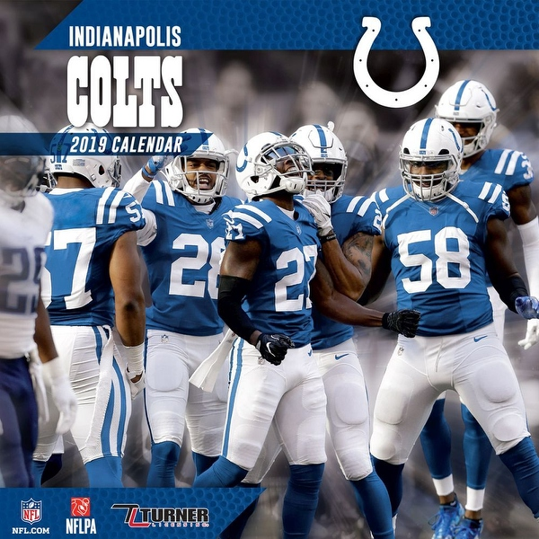 Cheap Shop 2019 Indianapolis Colts Mini Wall Calendar, Indianapolis Colts  for sale