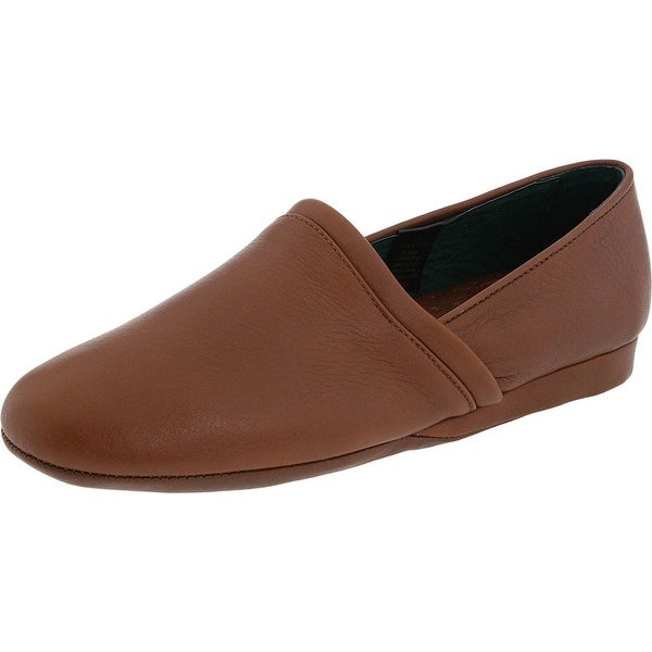 L.B. Evans Mens Aristocrat Leather Closed Toe Slip On Shoes