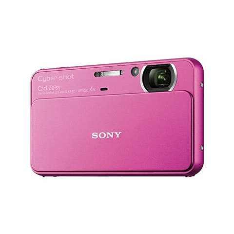 Sony T Series DSC-T99/P 14.1 Megapixel DSC Camera with Super HAD CCD Image Sensor (Pink) - N/A
