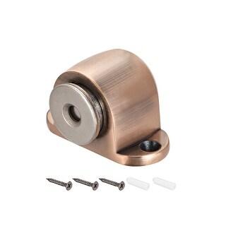 Household Silver Tone Door Floor Stop Magnetic Holder Stopper
