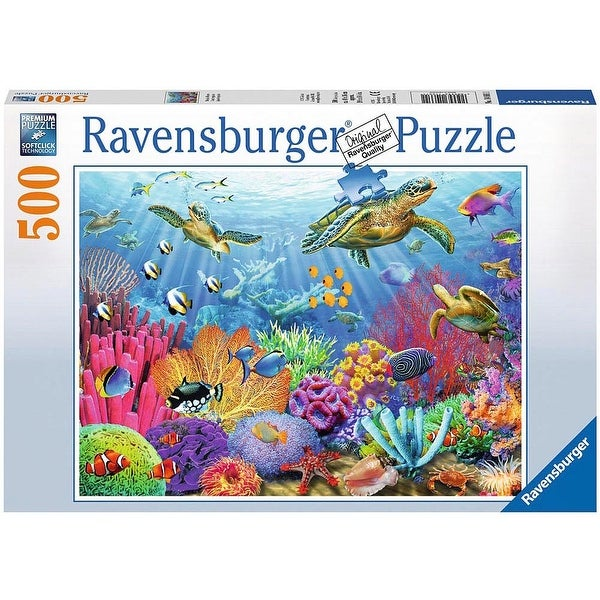 Tropical Waters 500 Piece Puzzle, 500 Piece Puzzles by Ravensburger