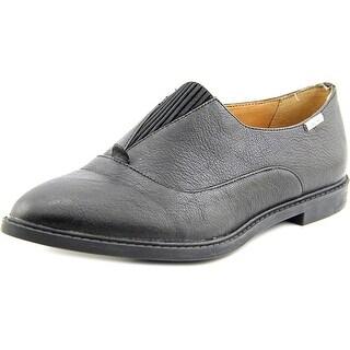 Calvin Klein Daphne Gibson Women Round Toe Leather Loafer