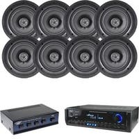 Pyle KTPDICT7 4 Channel High Power Stereo Speaker Selector