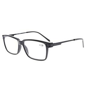 Eyekepper TR90 Frame Classic Spring Hinges Readers Stylish Reading Glasses Black+0.5
