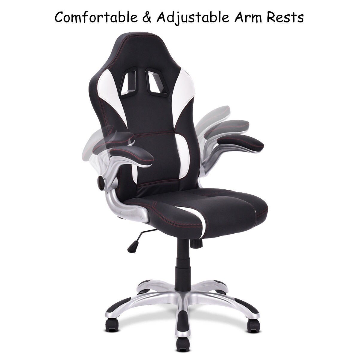 Pictures On Gaming Chair With Adjustable Armrests
