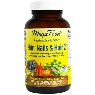 MegaFood Skin, Nails & Hair 2 - 90 Tablets