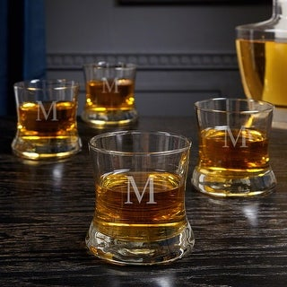 Link to Clooney Personalized Bourbon Glasses, Set of 4 Similar Items in Glasses & Barware