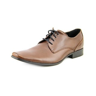 Calvin Klein Brodie Plain Toe Leather Oxford (Option: Comfort)
