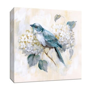 """PTM Images 9-147307  PTM Canvas Collection 12"""" x 12"""" - """"Morning Song II"""" Giclee Flowers Art Print on Canvas"""
