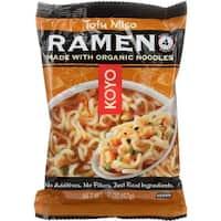 Koyo Ramen - Tofu Miso - Case of 12 - 2 oz.