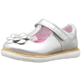 Step and Stride Girls Diana Mary Janes Metallic