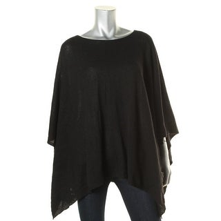 Private Label Womens Cashmere Marled Poncho Sweater - XS/S