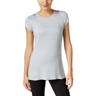 Calvin Klein Performance Womens Shirts & Tops Moisture Wicking Pleated Back