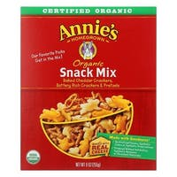 Annie's Homegrown Organic Snack Mix Bunnies - Case of 12 - 9 oz.