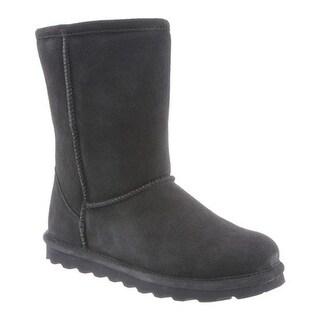 Bearpaw Women's Elle Short Boot Charcoal Suede