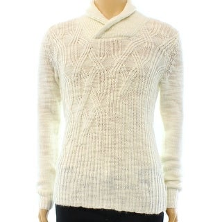 Calvin Klein NEW White Ivory Mens Size XL Mock Turtleneck Sweater